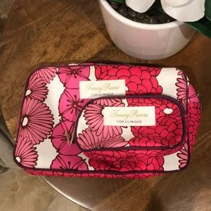 Tracy Reese makeup travel bags for Clinique bundle